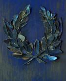 Anook CleonneWinner 260 x 40 x 5 cmpastel en bladgoud op papier
