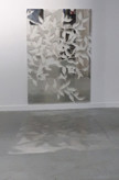 Andre PielageUmbra120 x 90 cmzilver op glas