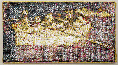 Anke LandSirens 241 x 29 cmJacquard geweven