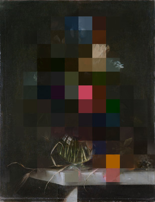 Annegret KellnerPicture Pigment_RR_fiv60x45cm