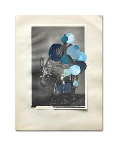 daily note #2 - 040521 - 30,2 x 23,1 cm aan Karin Fontein
