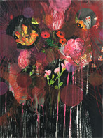 Anook CleonneStill 252 x 70 cmpastel op papier
