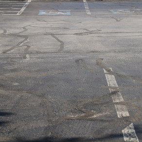Wear and Tear on your Pavement Markings: What Causes it and When Should You Paint?