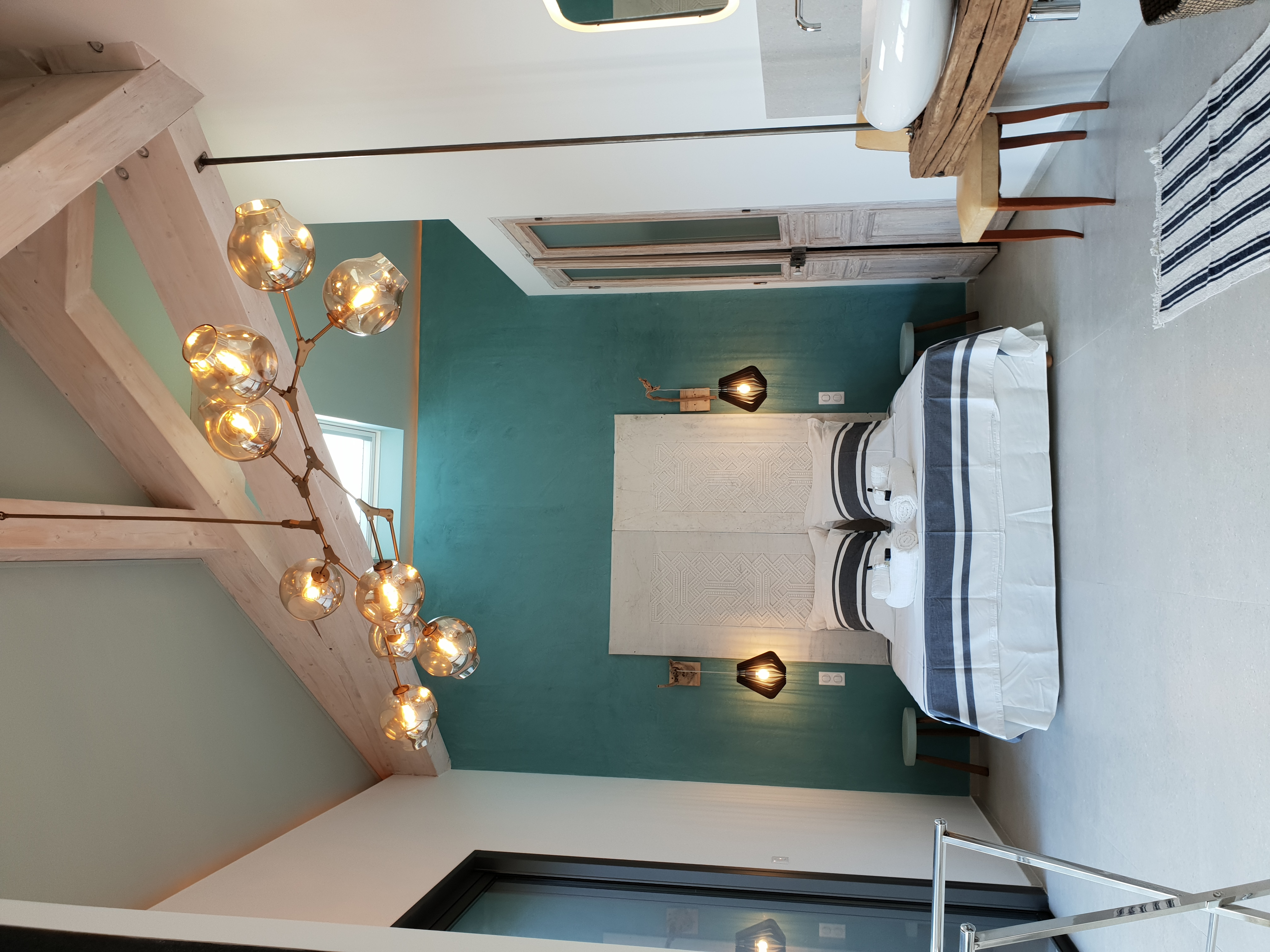 chambre avec lit en 160cm de large