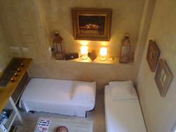 le salon en configuration lits