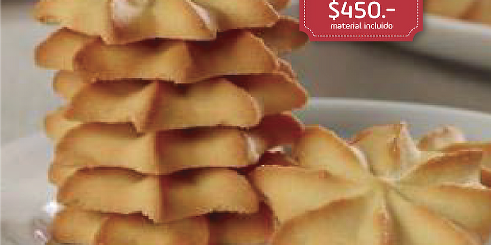Trío de galletas BESOS DE NUEZ, FRUTOS SECOS Y PASTISETAS
