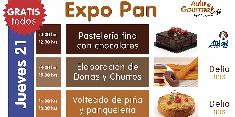 EXPO PAN JUEVES 21