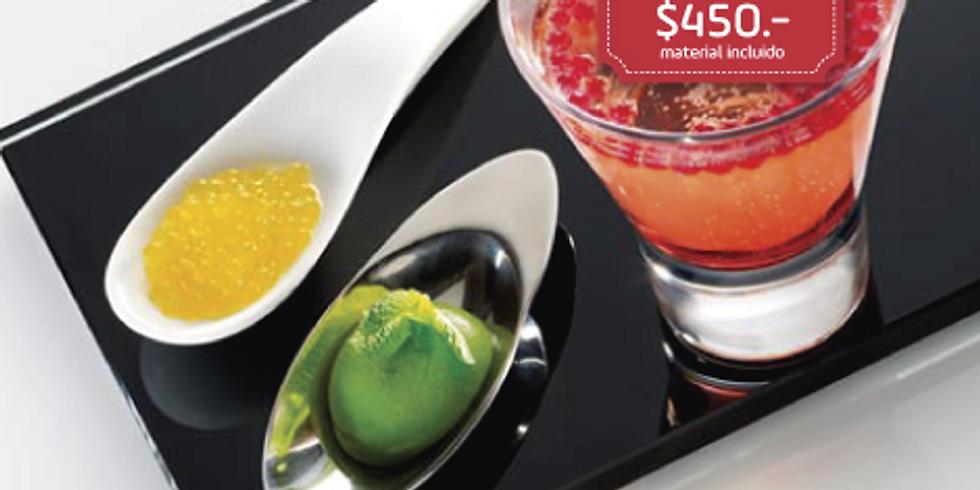 Caviar de frutas