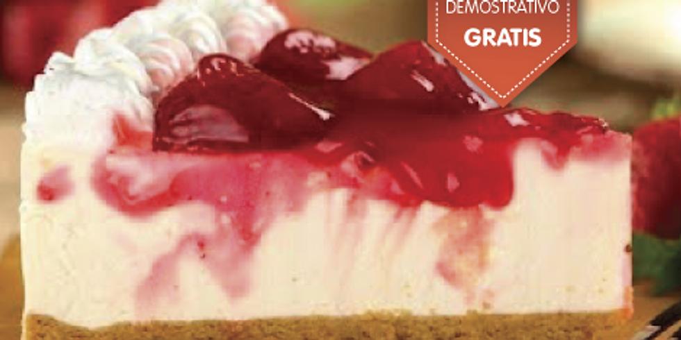 Cheese cake horneado y Pastelería fina