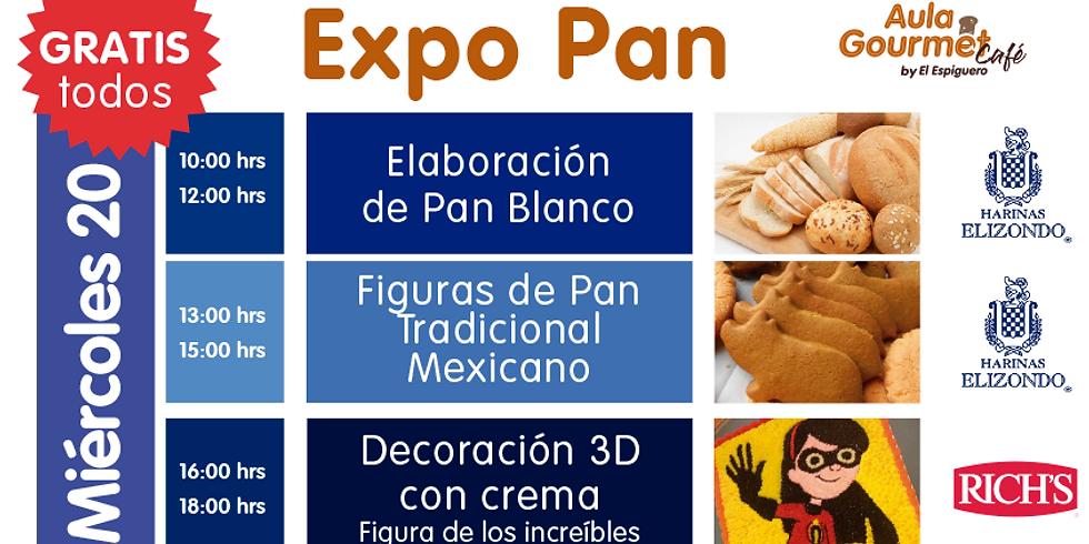 EXPO PAN MIÉRCOLES 20