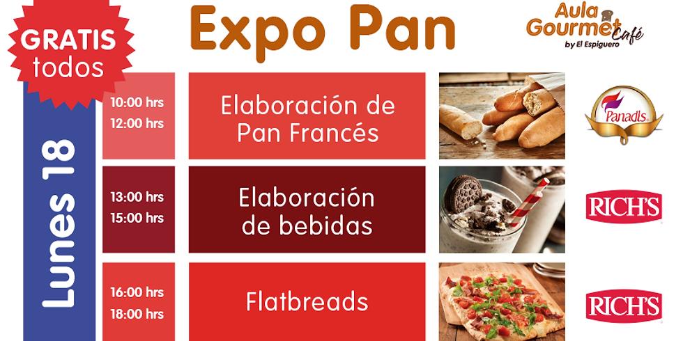 EXPO PAN LUNES 18