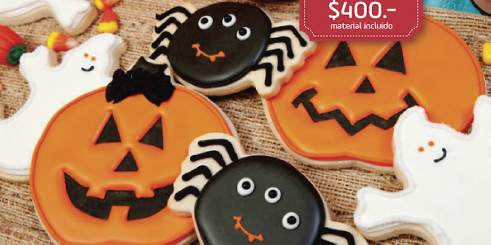 Galletas decoradas de Halloween