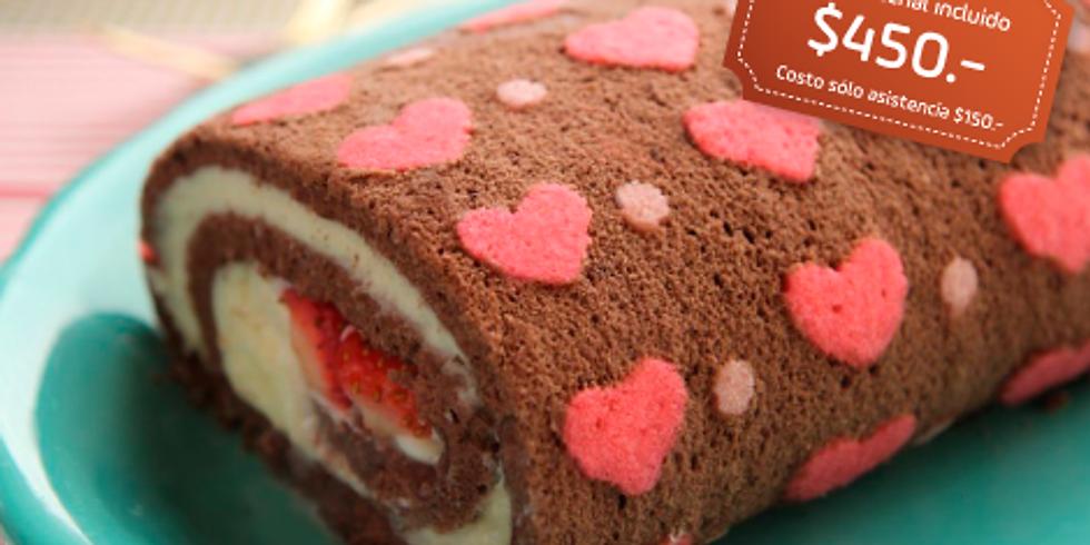Cake roll impreso