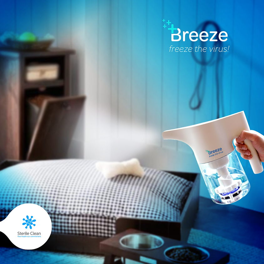 Con Breeze, freeze the virus