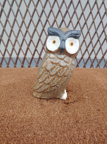 Small Outdoors Owl Statue