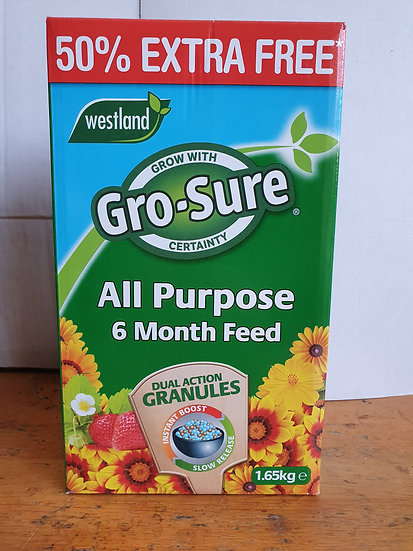 Westland's Gro-Sure All Purpose 6 Month Feed