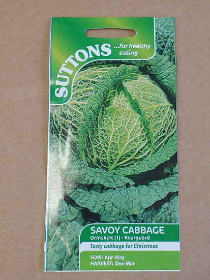 """Savoy Cabbage """"Ormskirk (1) - Rearguard"""""""