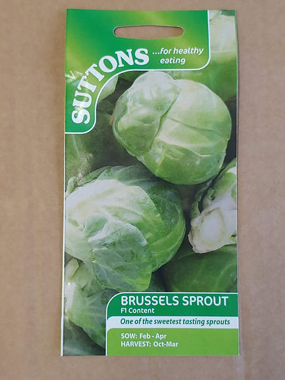 """Brussels Sprouts """"F1 Content"""""""