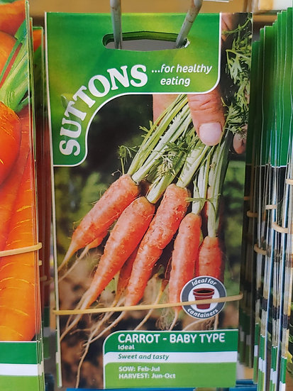 "Carrots Baby Type ""Ideal"""