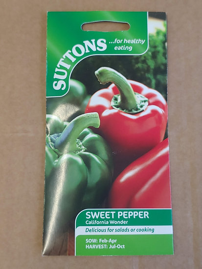 "Sweet pepper ""California Wonder"""