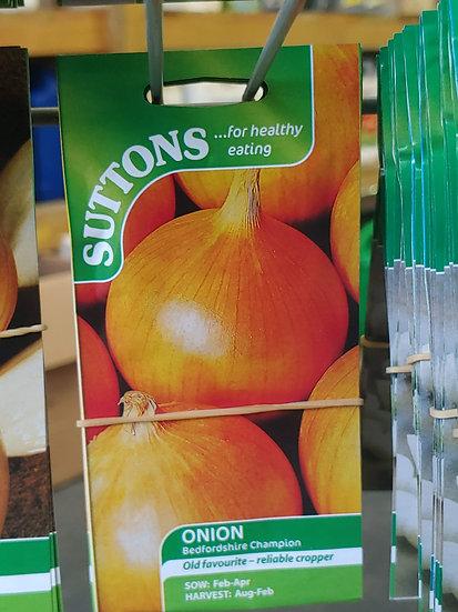 "Onion ""Bedfordshire Champion"""