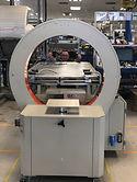 wrap/hold machine installation