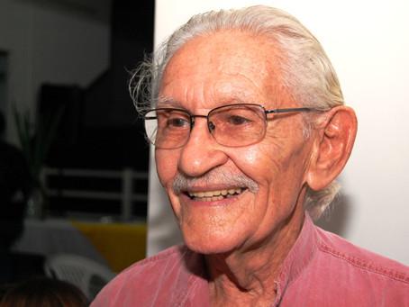 O ator sergipano Orlando Vieira irá comemorar 90 anos e receberá homenagem