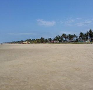 A praia e os náufragos