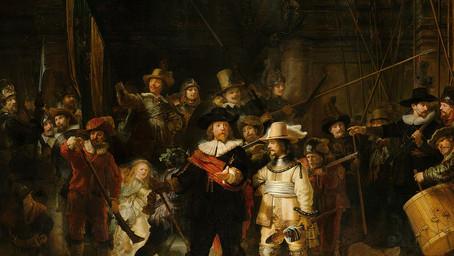 Rembrandt e a noite que virou dia