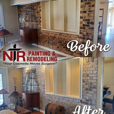 Before_After_Accent_Wall