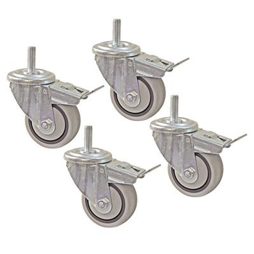 Casters, set of 4 (for Display Pack configurations)