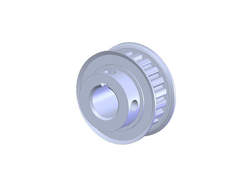 100245A (20XL037 Timing Pulley with keyway broach)