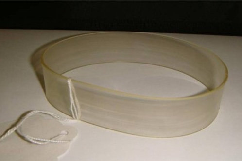 "OT-10064: Reliant 1500 Clear Center Feed Belt, 1"" (replaces 15000065)"