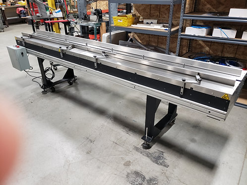 Reconditioned 11' Flighted Infeed Conveyor 115v