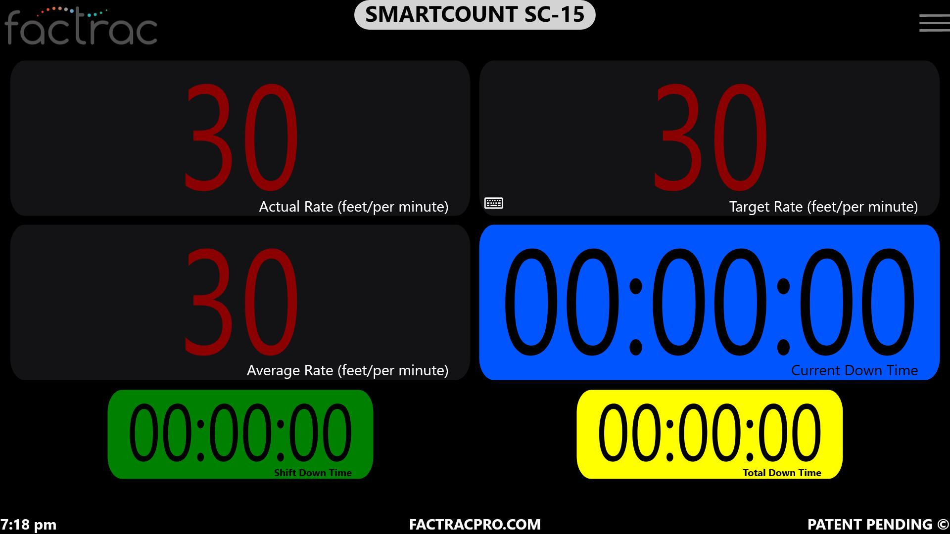 SC-15 Encoder w- Shift Timers