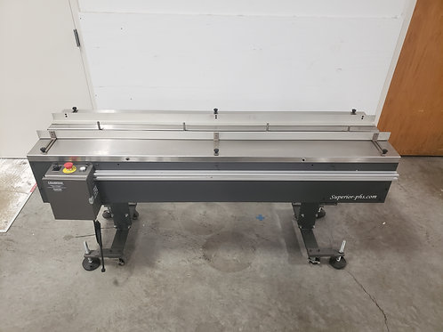 Reconditioned Superior-PHS 6' Flighted Infeed Conveyor, 115v