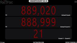 SC-8 Count 1 - Count 2  -  1 Minus 2