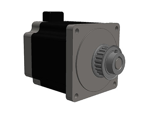 100406 (XM-1 Stepper Motor with Connector and Pulley)