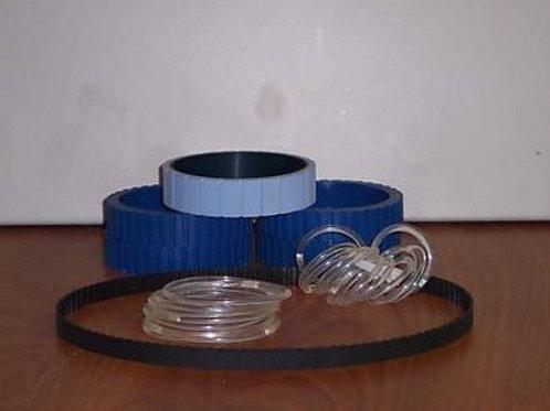 OT-991500P: Reliant 1500 Blue Urethane Belt Kit (Dealer)