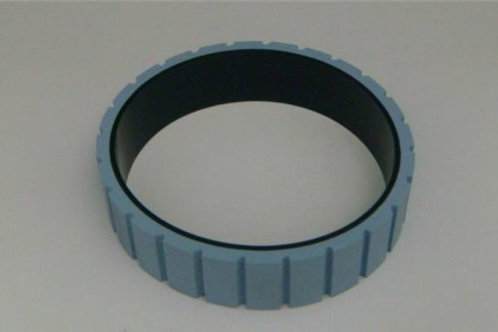 "OT-10076: Grooved Gum Belt, .75"" x 9"" (replaces 15000076)"