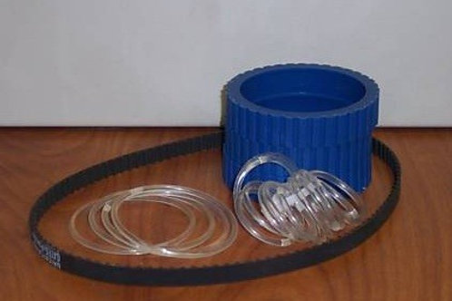 OT-99M1P: Model 1 Blue Urethane Belt Kit