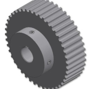 350050 (44T HTD Timing Pulley, No Flange)