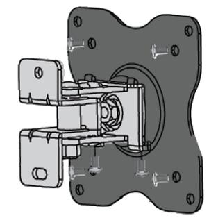 Display Mount, adjustable tilt, swivel rotation