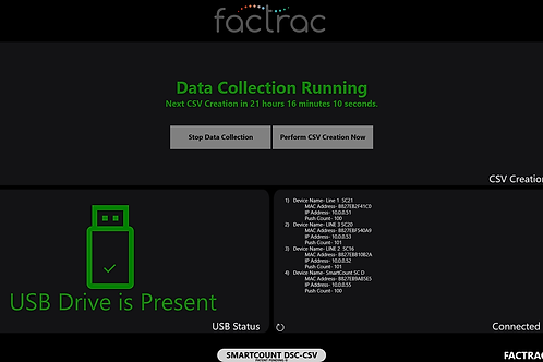 SmartCount CSV Data File Generator
