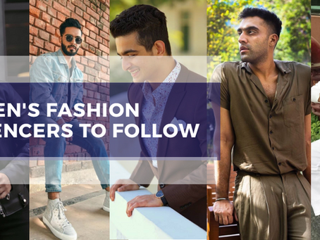 Top Men's Fashion Influencers Whose Wardrobe Is Worth Stealing!