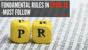 Fundamental Rules Of PR In COVID-19 You Must Follow