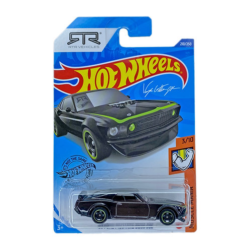 Hot Wheels - 69 Ford Mustang Boss 302 (2019) Alhershop