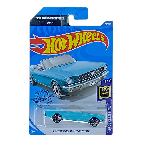 Hot Wheels - 65 Ford Mustang Convertible (007 Thunderball)