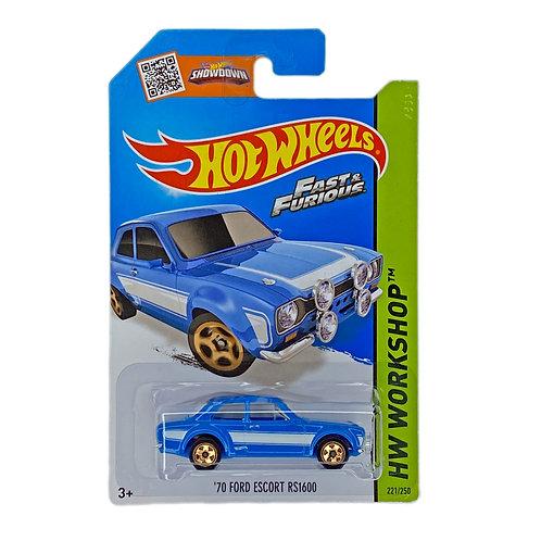 Hot Wheels - 70 Ford Scort RS1600 (2014) Fast & Furious Alhershop