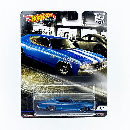 Hot Wheels Car Culture - 69 Chevelle SS 396 (Cruise Boulevard)   Alhershop